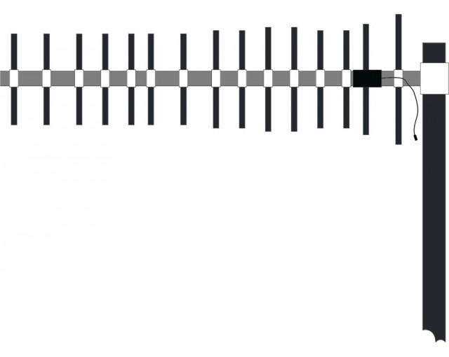 Антенна волновой канал ECY 9015 (GSM-900, 16,2 dB), усилители сигнала сотовой (мобильной) связи, ретрансляторы, репитеры, усиление, gsm, 3g, антенны, купить, Украина